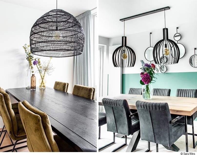 Eetkamer Inspiratie Welke Lamp Past Het Beste Boven Mijn Eettafel Woonblog